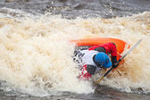 Freestyle auf Wildwasser — Stockfoto