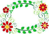 цветочная структура — Cтоковый вектор