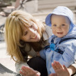 Child and Mother — Stock Photo