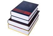 Böcker på stacken — Stockfoto