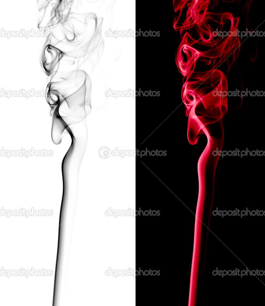 Beautiful abstract smoke pattern isolated — Stock Photo #2903569