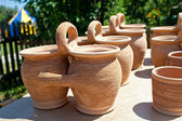 Clay pot — Stock Photo