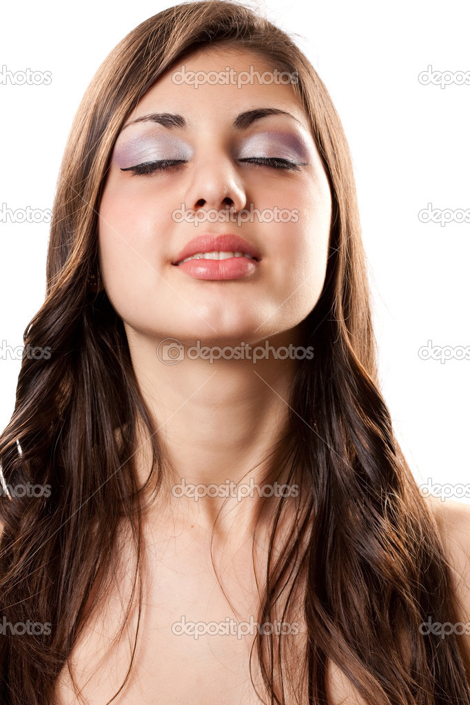 Beautiful hispanic girl - Stock Image