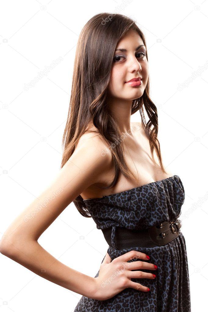 Beautiful latino girl — Stock Photo © Xalanx #2830976