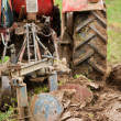 Tractor plowing — Stock Photo #2895858
