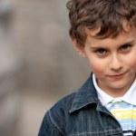 Gorgeous kid outdoors — Stock Photo #2946848