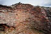 Vlad Tepes' fortress ruins — Stock Photo