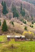Old house on a mountain — Stock Photo