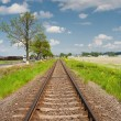 Royalty-Free Stock Photo: Railroad going into the distance