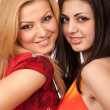 Girlfriends closeup — Stok fotoğraf #3168060