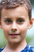 Boy outdoor — Stock Photo