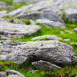 Rocks on mountain - Stock Photo
