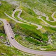 Transfagarasan road in Romania — Stock Photo #3519023