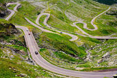 Transfagarasan road in Romania — Stock Photo