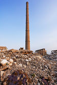 Funnel - industrial ruins — Stock Photo