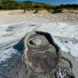 Muddy Volcanoes from Romania - Stock Photo