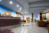 Hotellets lobby — Stockfoto