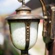 Retro lamp — Stock Photo