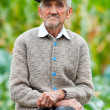 Senior man outdoor — Stock Photo