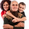 three generations — Stock Photo