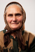 Happy senior woman — Stock Photo