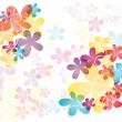 Colorful flowers — Imagen vectorial