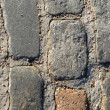 Ancient cobblestone texture — Stock Photo