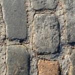 Ancient cobblestone texture — Stock Photo