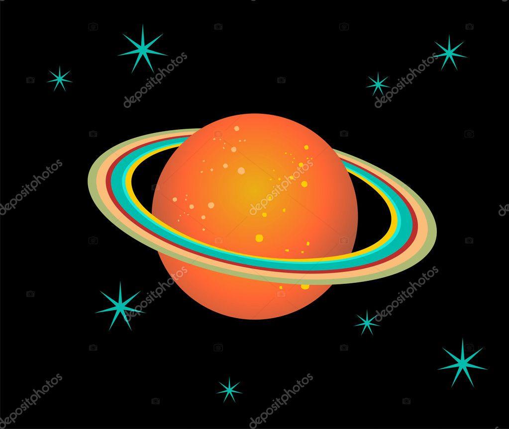 Рисунок сатурн как планеты