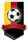 Germany Soccer Championship banner — Stock Vector