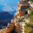 Stock Photo: Cliff in Grand Canyon