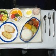 Airline meal — Stock Photo