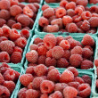 Stock Photo: Raspberry background