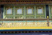 修道院的窗口 — 图库照片