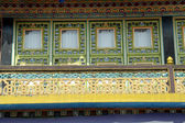 Ventana del monasterio — Foto de Stock