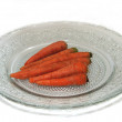 Stock Photo: Healthful Carrots