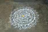 Rangoli Design — Stock Photo