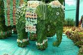 Leafy Elephant — Stock Photo