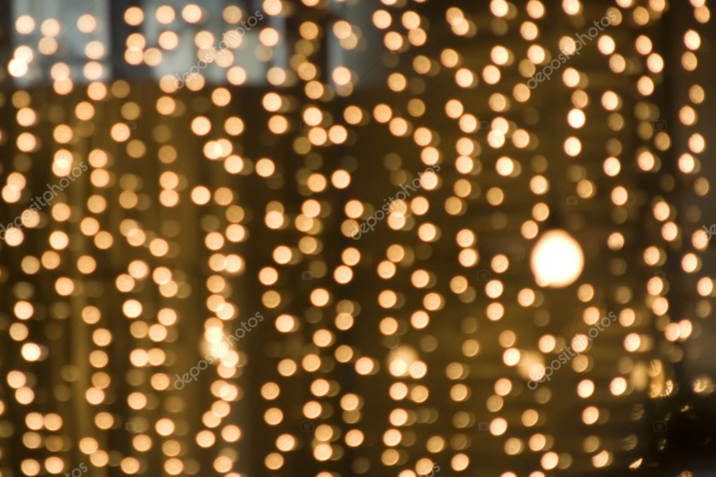 Gold Lights Backgrounds Blurred golden light