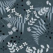 Floral background, fotest — Stock Vector
