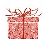 Stylized gift - vector — Stock Vector #3565475