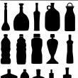 Bottle Icons — Stock Vector