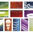 Various business card set — Stock Vector #2697468