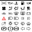 Dashboard icons — Stock Vector