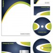 Stylish new corporate vector set — Stock Vector #2713179
