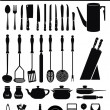 Royalty-Free Stock Vector Image: Kitchen Accessories