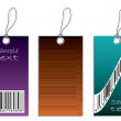 Labels with bar-code — Stock Vector #2730177