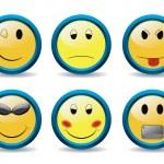 New set of smileys — Stock Vector #2770005