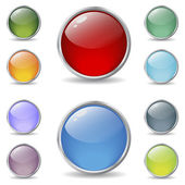 New cool web buttons — Stock Vector