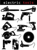 Electric tools — Stockvector